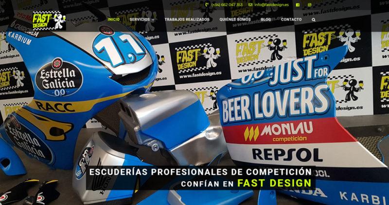 Nueva web Fast Design