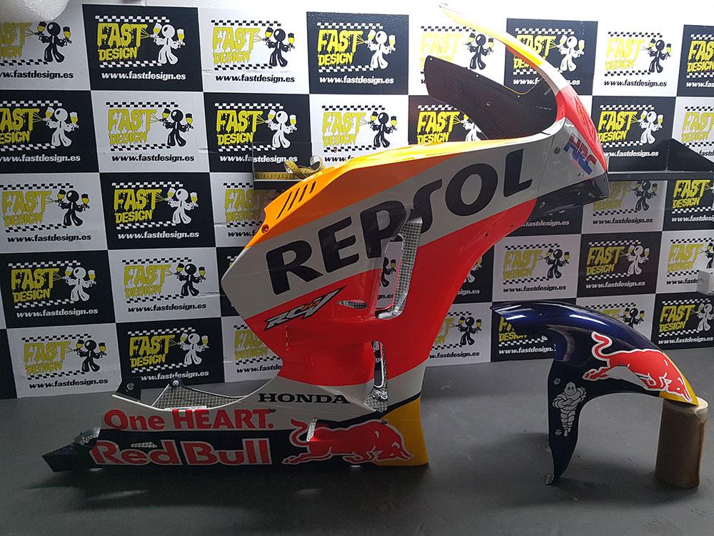 Réplica de motos de competición