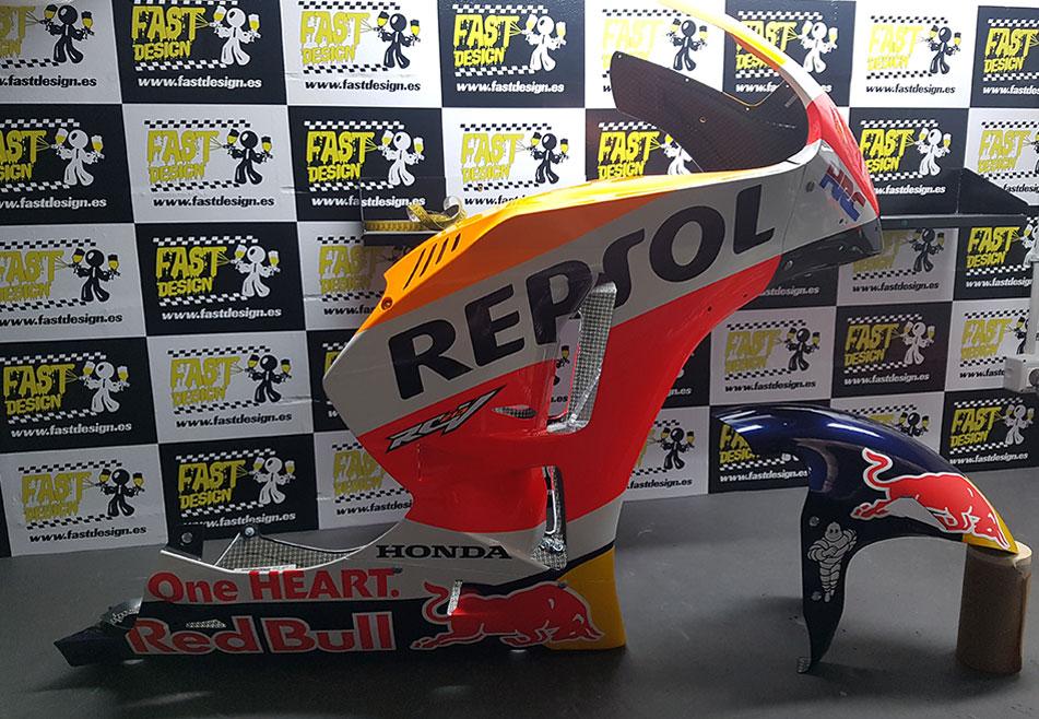 Taller de chapa y pintura de motos