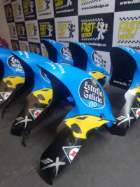Pintura de motos de competición